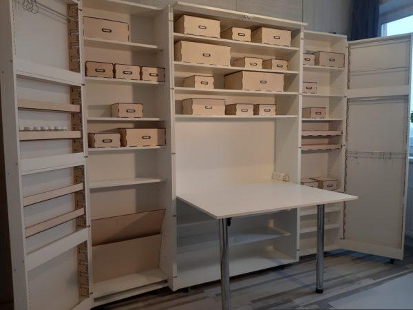 Шкаф трансформер для рукоделия купить в Москве