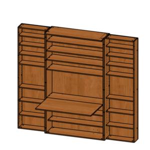 Шкаф для рукоделия Омега Большой  Эконом