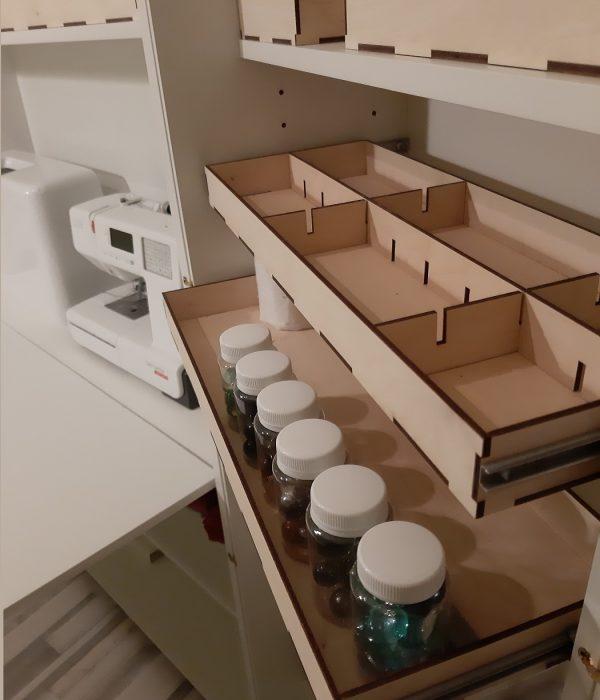 шкаф омега выдвижные ящ